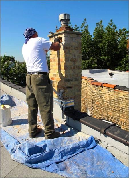 Chimney Repair - Chimney Rebuild - Masonry Repair - Rollin Contracting