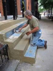 Concrete Restoration - Concrete Resurfacing - Stair